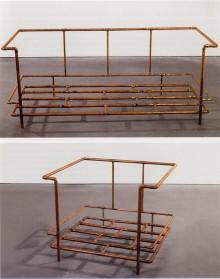 <b>Jorge Pardo, <i>Le Corbusier Chair and Sofa</i>, 1990</b>