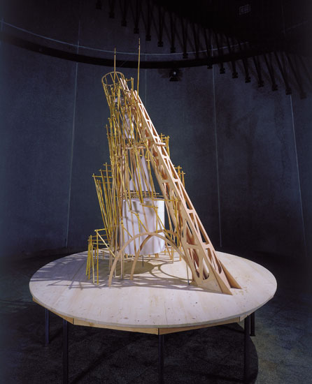 <b>Michel Aubry, <i>Set to the Music of the Monument to the Third International</i>, 2000</b>