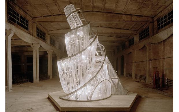 <b>Ai Weiwei, <i>Fountain of Light</i>, 2007</b>