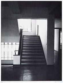 <b>Günther Förg, <i>Bauhaus Stairs,</i> 1993</b>