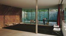<b>Jeff Wall, <i>Morning Cleaning, Mies van der Rohe Foundation, Barcelona</i>, 1999</b>
