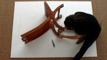 <b>Jill Magid, <i>Tracing Albers' Chair</i>, 2014</b>