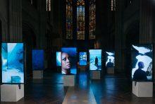 <b>Isaac Julien, <i>Stones Against Diamonds (Ice Cave)</i>, 2015</b>