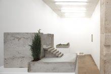 <b>Isa Melsheimer, <i>Dachgarten/Raum</i>, 2010</b>