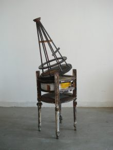 <b>Kostis Velonis, <i>Reconstruction of the Model of Tatlin's Monument to the III International as an Instrument of Research for Domesticity</i>, 2009</b>