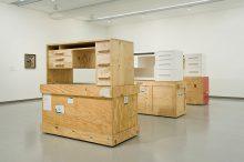 <b>Simon Starling, <i>Three White Desks</i>, 2008-9</b>