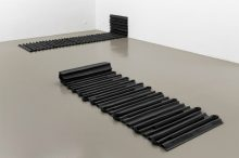 <b>Leonor Antunes, <i>a spine wall suppressed all draughts</i>, 2008</b>