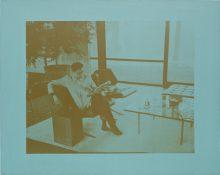 "<b>David Diao, ""Sitting the Glass House"" series, 2003-05</b>"
