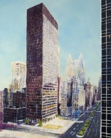 <b>Enoc Perez, <i>Seagram Building [after a photograph by Ezra Stoller]</i>, 2006</b>