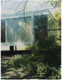 <b>James Welling, <i>Farnsworth House (Scratched),</i>2006</b>
