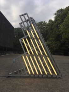<b>Ângela Ferreira, <i>Monument to D. Flavin (an ideological utopia to contemplate)</i>, 2008</b>