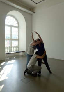 <b>Alexandra Pirici and Manuel Pelmus, <i>Works in Public Collections<i>, 2014